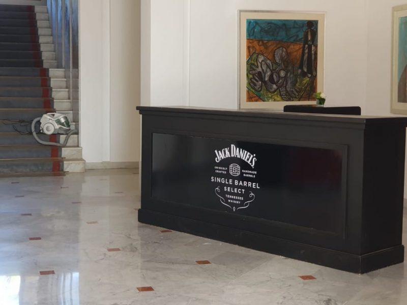 Bar Jack Daniel - 2,5 m