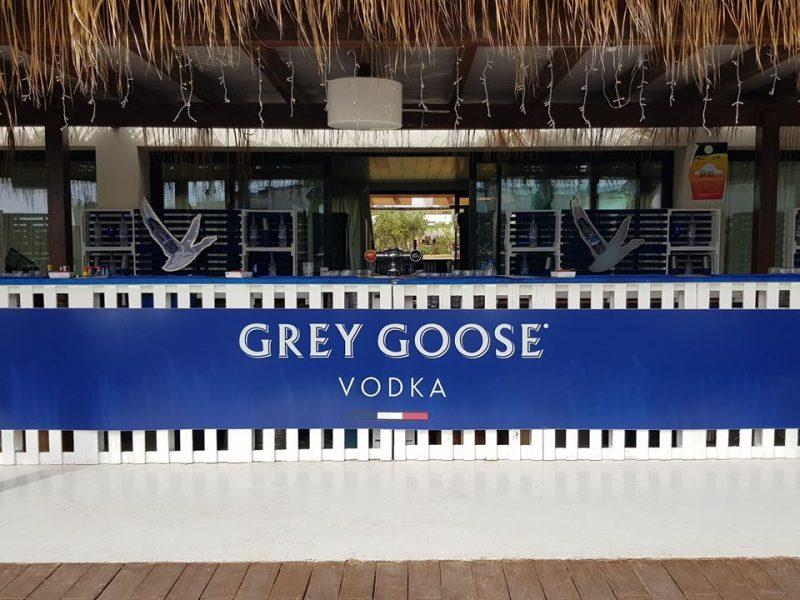 Bar Grey Goose - 12 m linéaire