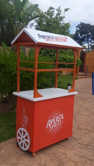 Stand Mobile - Aperol Spritz